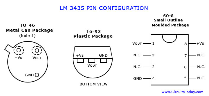 Lm 34 35 Pin diagram