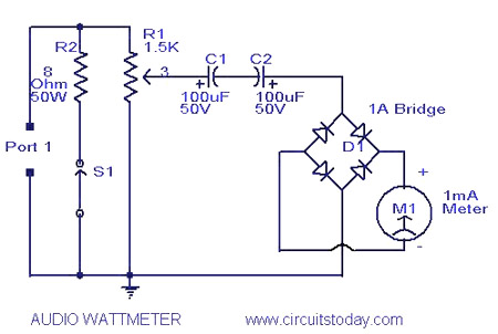 Power Meter Schematic Diagram Wiring Diagram Portal
