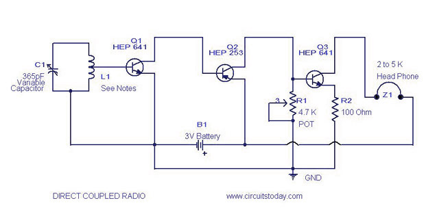 Radio Circuit Diagram