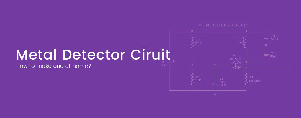 Metal Detector Circuit with Diagram and Schematic