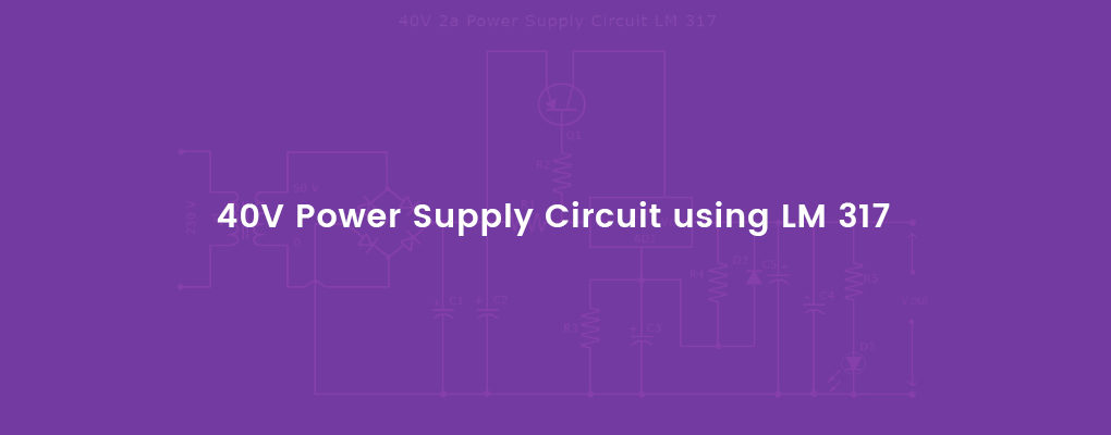 Power supply circuit LM317