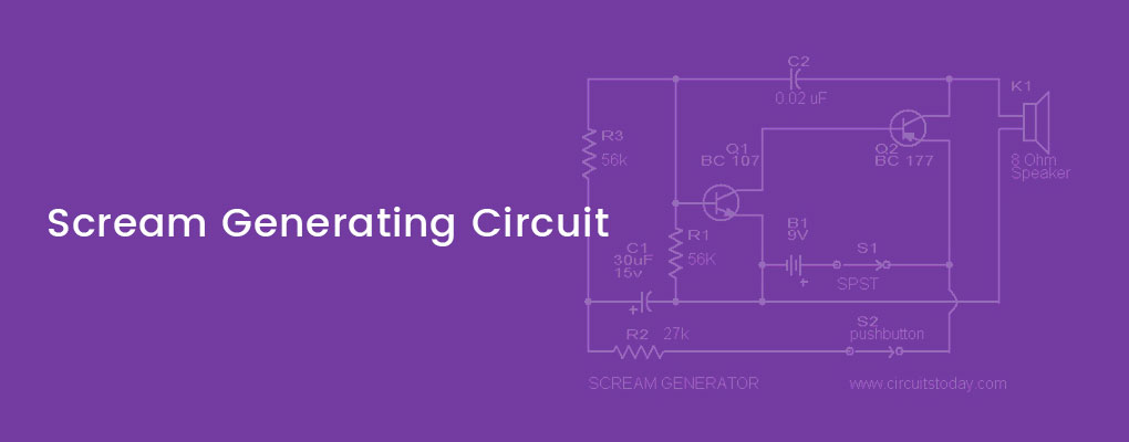 Sound/Horn Frequency Generator Circuit with Diagram