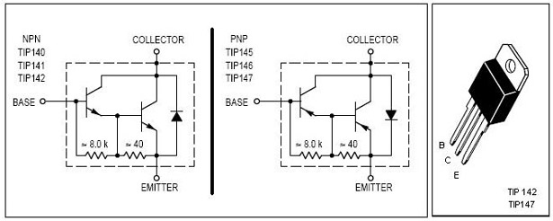 150 Watt Amplifier Circuit