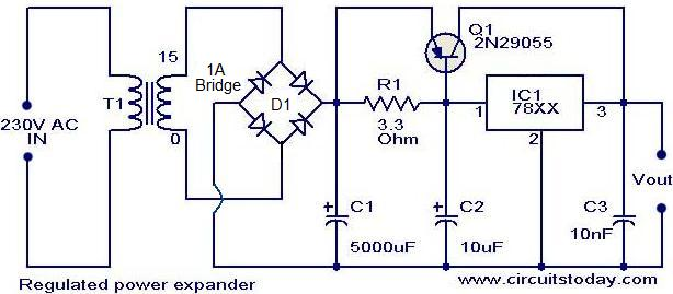 regulated-power-expander-_circuit