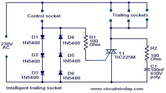 intelligent-trailing-switch-circuit