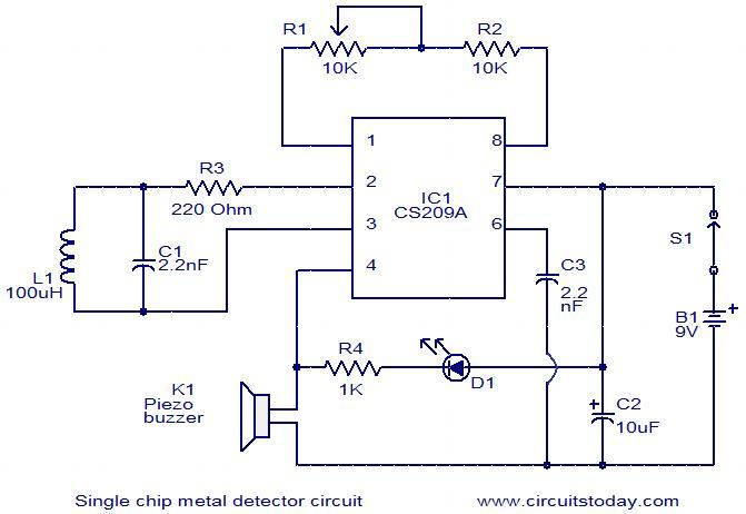 single-chip-metal-detector-circuit