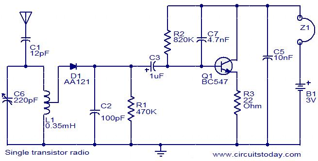 am radio receiver pcb diagram and design motorcycle schematic am radio receiver pcb diagram and design single transistor radio circuit am radio receiver