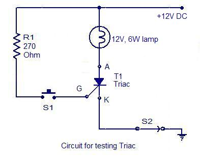 how to test an scr electronic circuits and diagrams electronic rh circuitstoday com