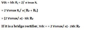 Regulation of Full Wave Rectifier
