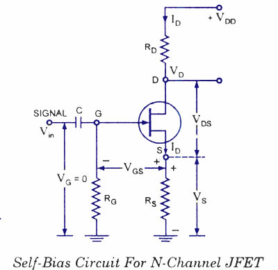 fet biasing electronic circuits and diagrams electronic circuit diagram of n channel jfet circuit diagram of n channel jfet