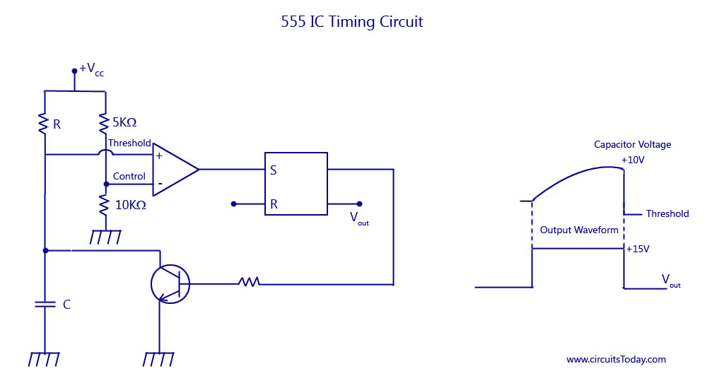 555 IC Timing Circuit