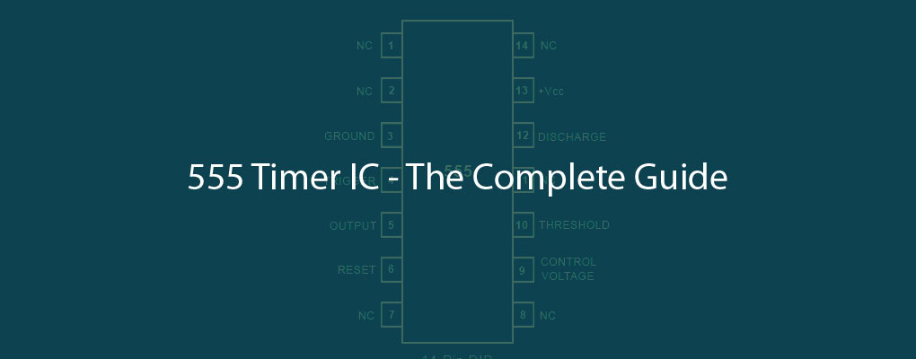 555 Timer IC Block Diagram Working Pin Out Configuration Data Sheet