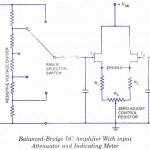 Balanced Bridge DC amplifier