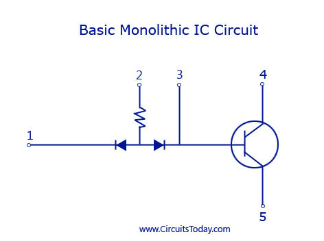 Basic Monolithic IC Circuit