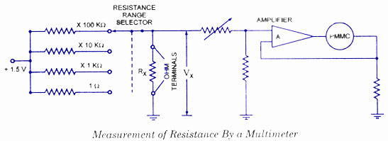 electronic multimeters electronic circuits and diagrams electronic rh circuitstoday com multimeter circuit diagram symbol multimeter circuit diagram explanation