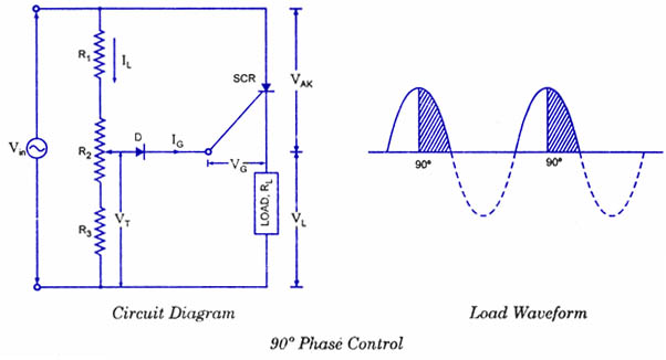 scr firing circuit diagram