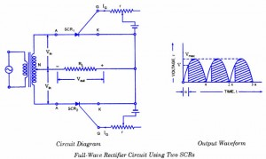 SCR Full-Wave Rectifier