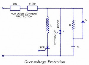 SCR Over Voltage Protection