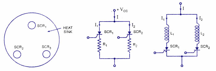 SCR-Series and Parallel connections - Electronic Circuits
