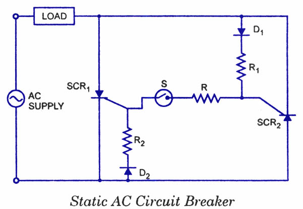Scr Applications Electronic Circuits And Diagrams