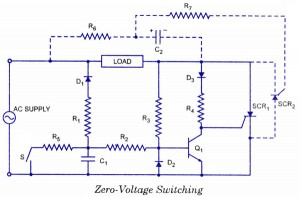 SCR Switching Application