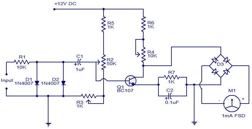 tachometer circuit electronic circuits and diagram electronics tachometer circuit