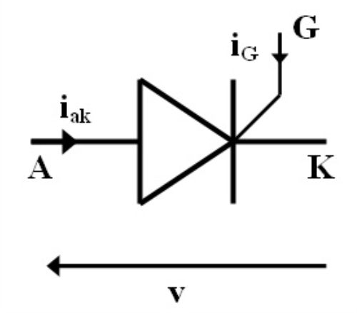 Thyristor Circuit Symbol Electronic Circuits And