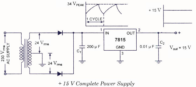 fixed positive voltage regulators