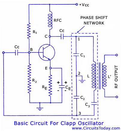 Clapp Oscillator - Electronic Circuits and Diagrams-Electronic