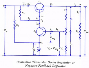 Controlled Transistor Series Regulator