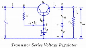 Emitter Follower Voltage Regulator