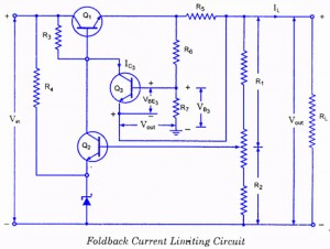 Foldback Current Limiting Circuit