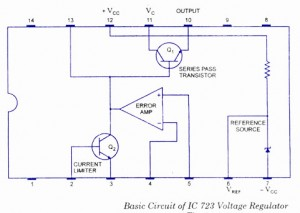 IC 723 Voltage Regulator
