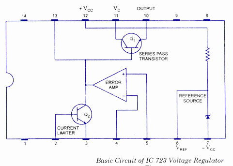 IC Voltage Regulator Circuit