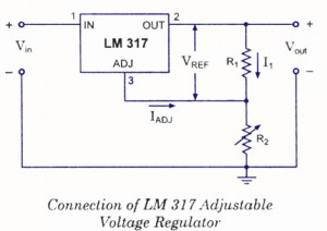 adjustable voltage regulator