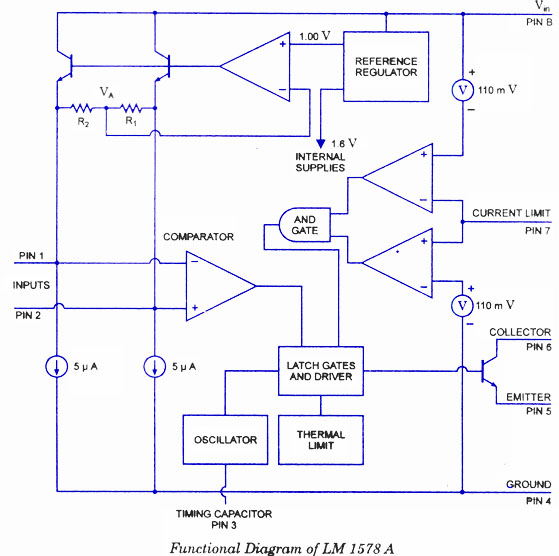 LM1578A Switching Voltage Regulator