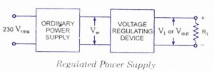 Regulated Power Supply Diagram
