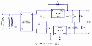 Simple Dual Power Supply