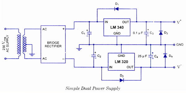 15v Dual Power Supply Dual Regulated Power Supply