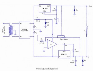 Tracking Dual regulator