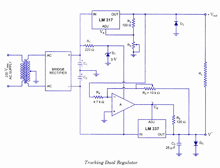 Power Supply Circuits The Ic Are Comprehensively Explained In This
