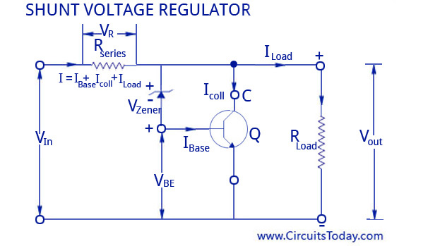 Voltage Regulators Circuits Types Working Principle Design