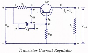 transistor current regulator