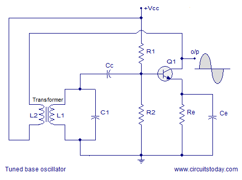 tuned base oscillator circuit