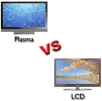 Comparison between LCD and Plasma Display