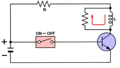 De-spiking resistor relays