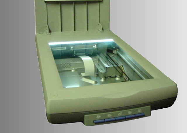 Working Of Scanner