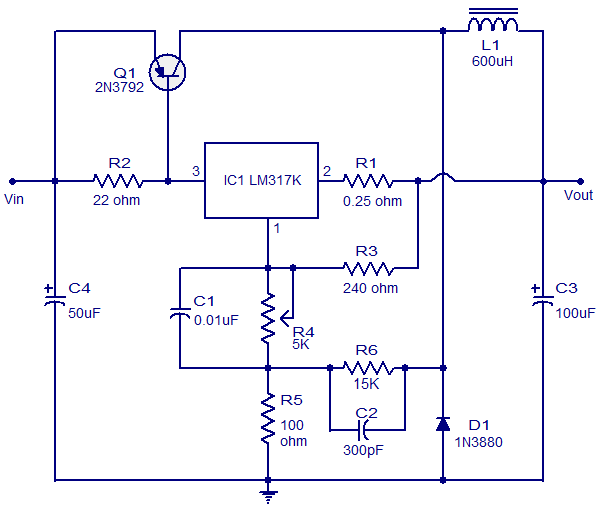 3A switching regulator