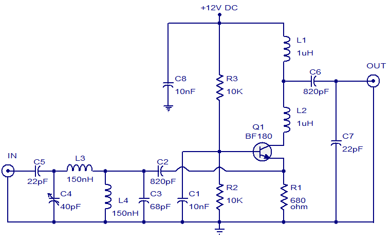 tv antenna booster - electronic circuits and diagram-electronics,Block diagram,Block Diagram Of Cable Tv
