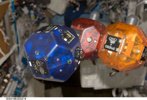 Synchronized Position Hold, Engage, Reorient Experimental Satellites (SPHERES)